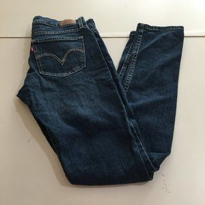Levis 524 Too Superlow Skinny Womens Jeans 5 M